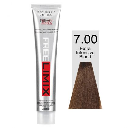 FREELIMIX VOPSEA PERMANENTA PROFESIONALA 100 ML EXTRA INTENSE BLONDE 7.00