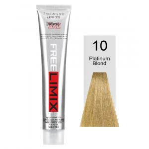 FREELIMIX VOPSEA PERMANENTA PROFESIONALA 100 ML PLATINUM BLONDE 10
