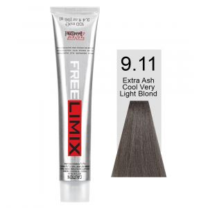 FREELIMIX VOPSEA PERMANENTA PROFESIONALA 100 ML EXTRA ASH COOL VERY LIGHT BLONDE 9.11