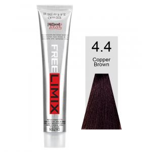 FREELIMIX VOPSEA PERMANENTA PROFESIONALA 100 ML COPPER BROWN 4.4