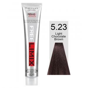 FREELIMIX VOPSEA PERMANENTA PROFESIONALA 100 ML LIGHT CHOCOLATE BROWN 5.23