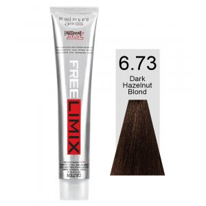 FREELIMIX VOPSEA PERMANENTA PROFESIONALA 100 ML DARK HAZELNUT BLONDE 6.73