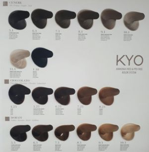 KYO VOPSEA PROFESIONALA FARA AMONIAC SI FARA PPD 9.00 INTENSE VERY LIGHT BLONDE